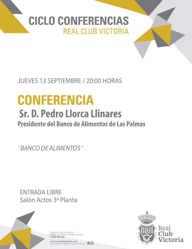Conferencias del Real Club Victoria
